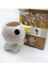 Lucuma Designs Swirly Mini Ceramic Plant Pot