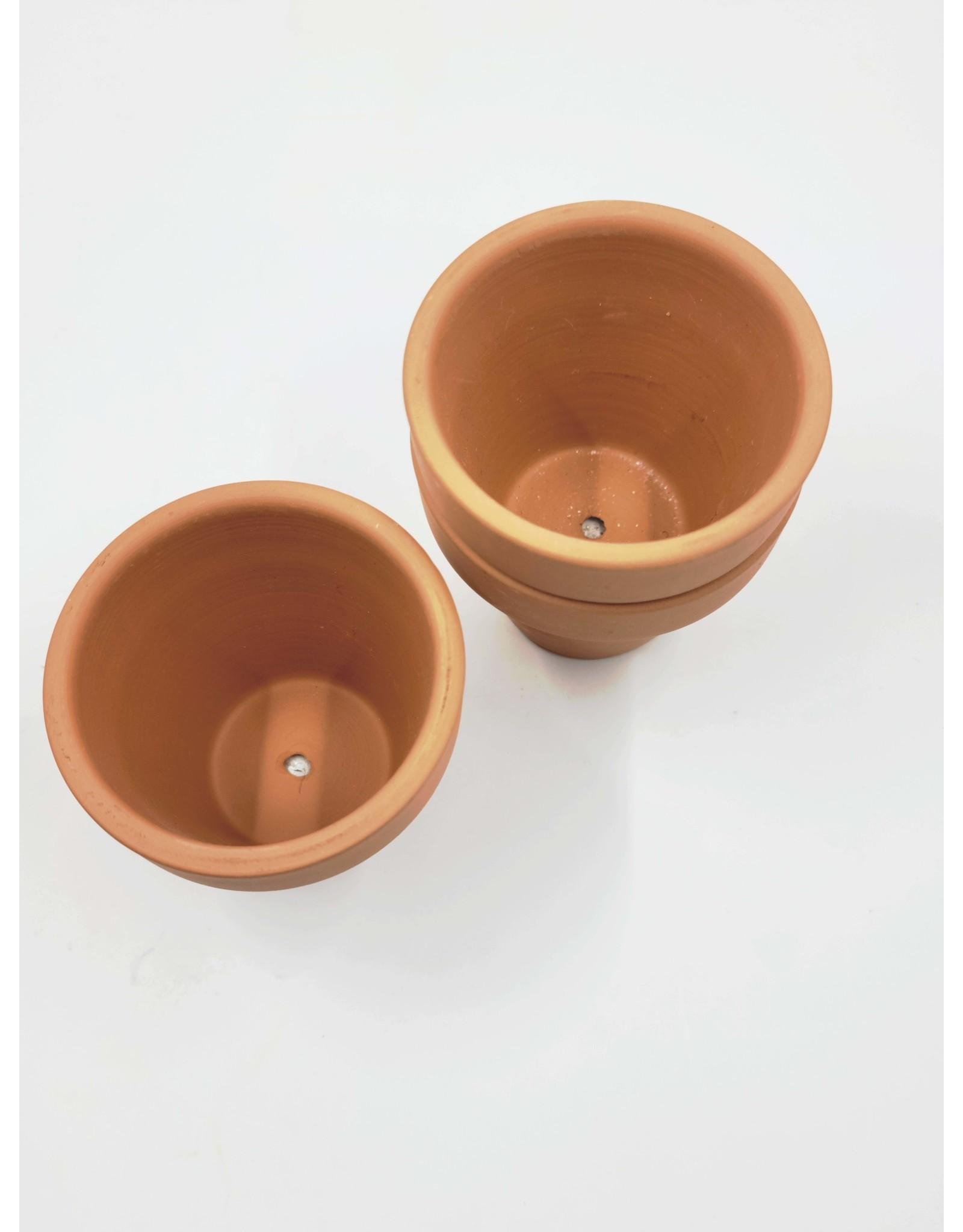 One Hundred 80 Degrees Mini Terracotta Pot