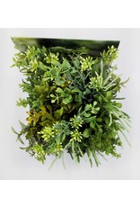 Fragranced Wax Foliage Decor with Tile