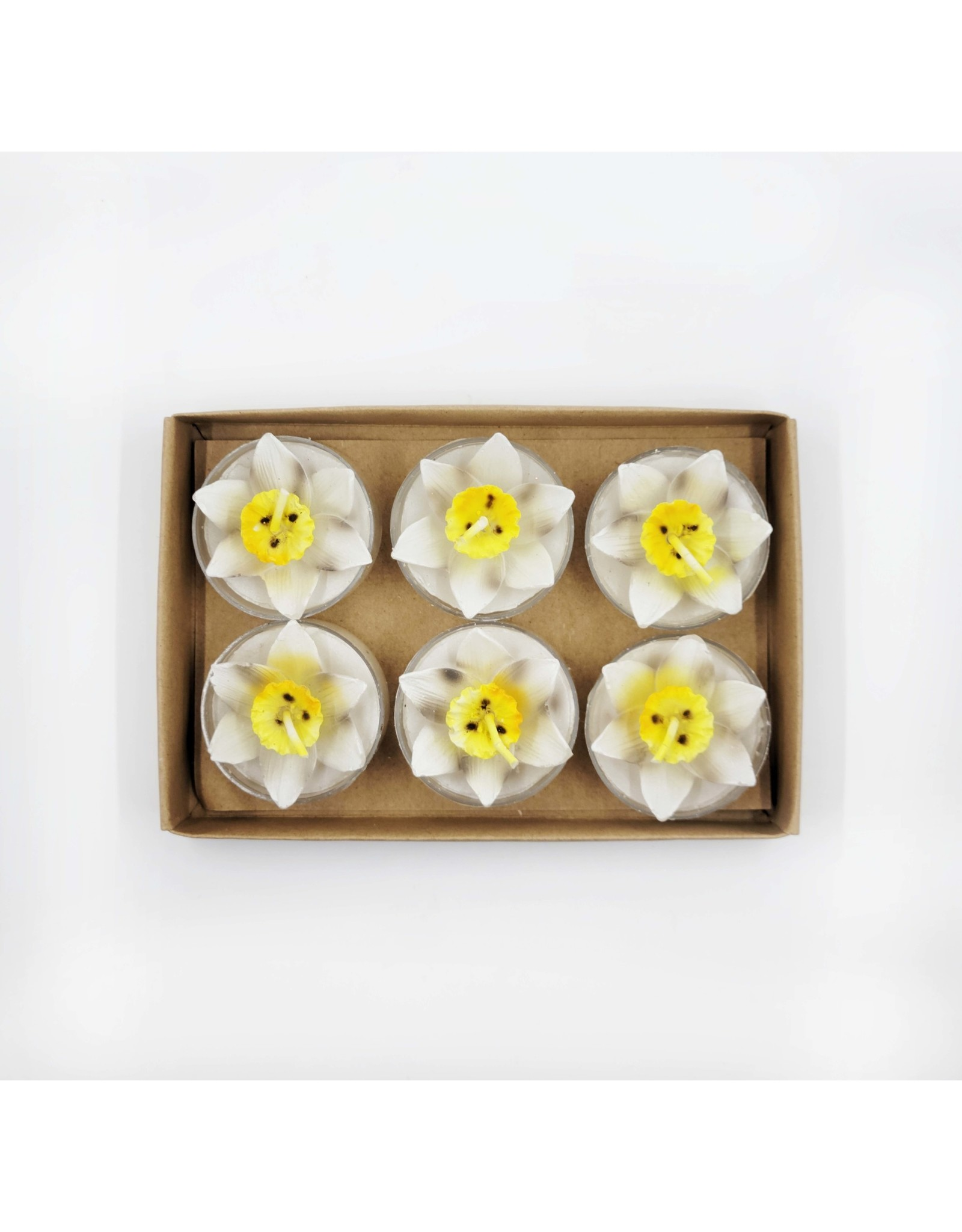 One Hundred 80 Degrees Decorative Tealight Candles - Pack of 6