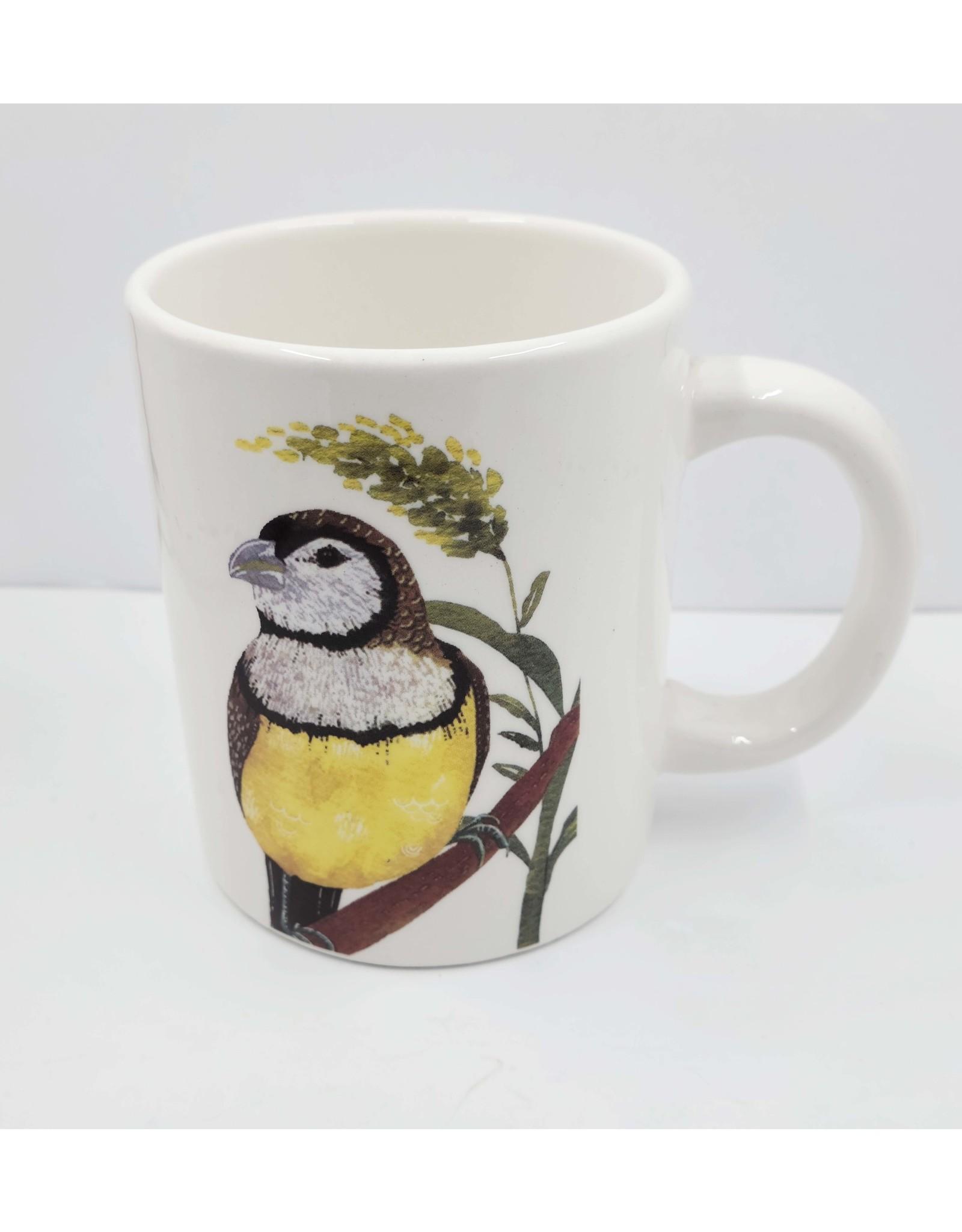 Bird and Flower Mug