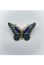 Small Gold Butterfly Pin