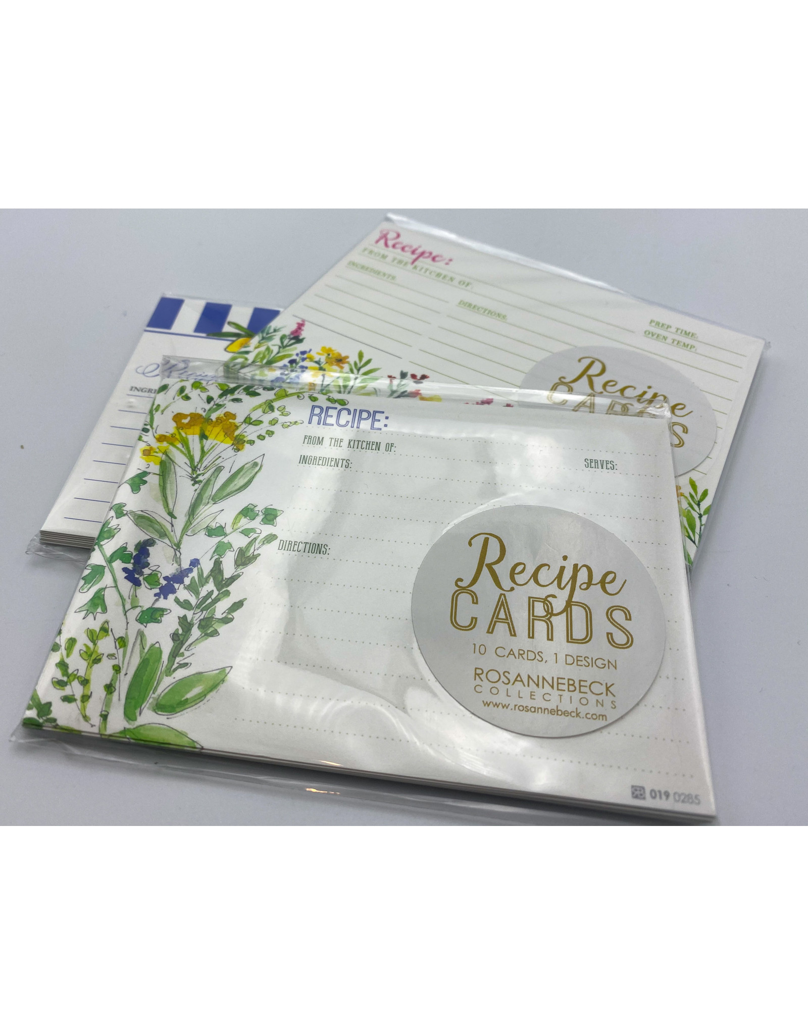 Recipe Card Set - Assorted