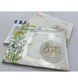 Recipe Card Set - Assorted