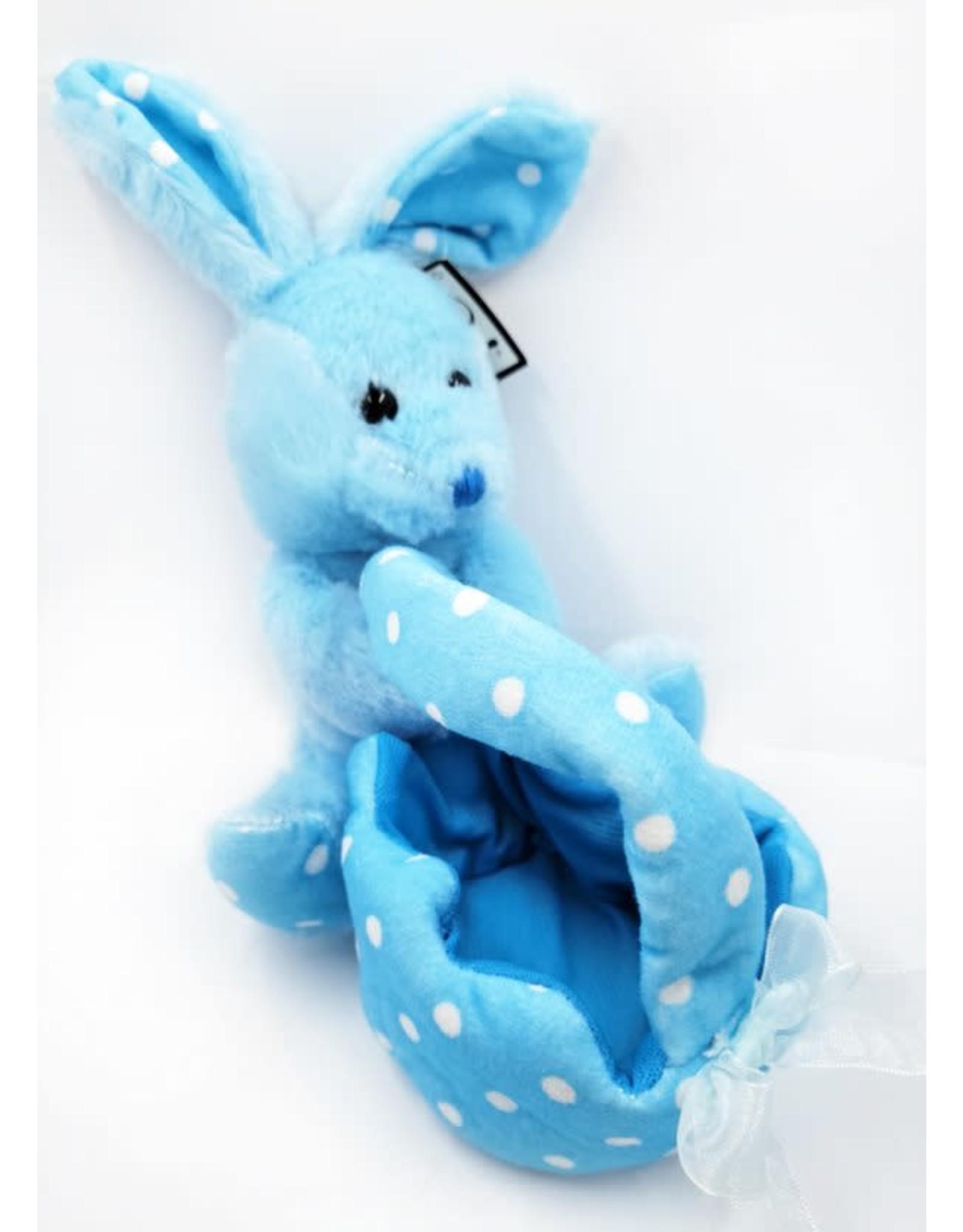 Colored Bunny Dot Basket
