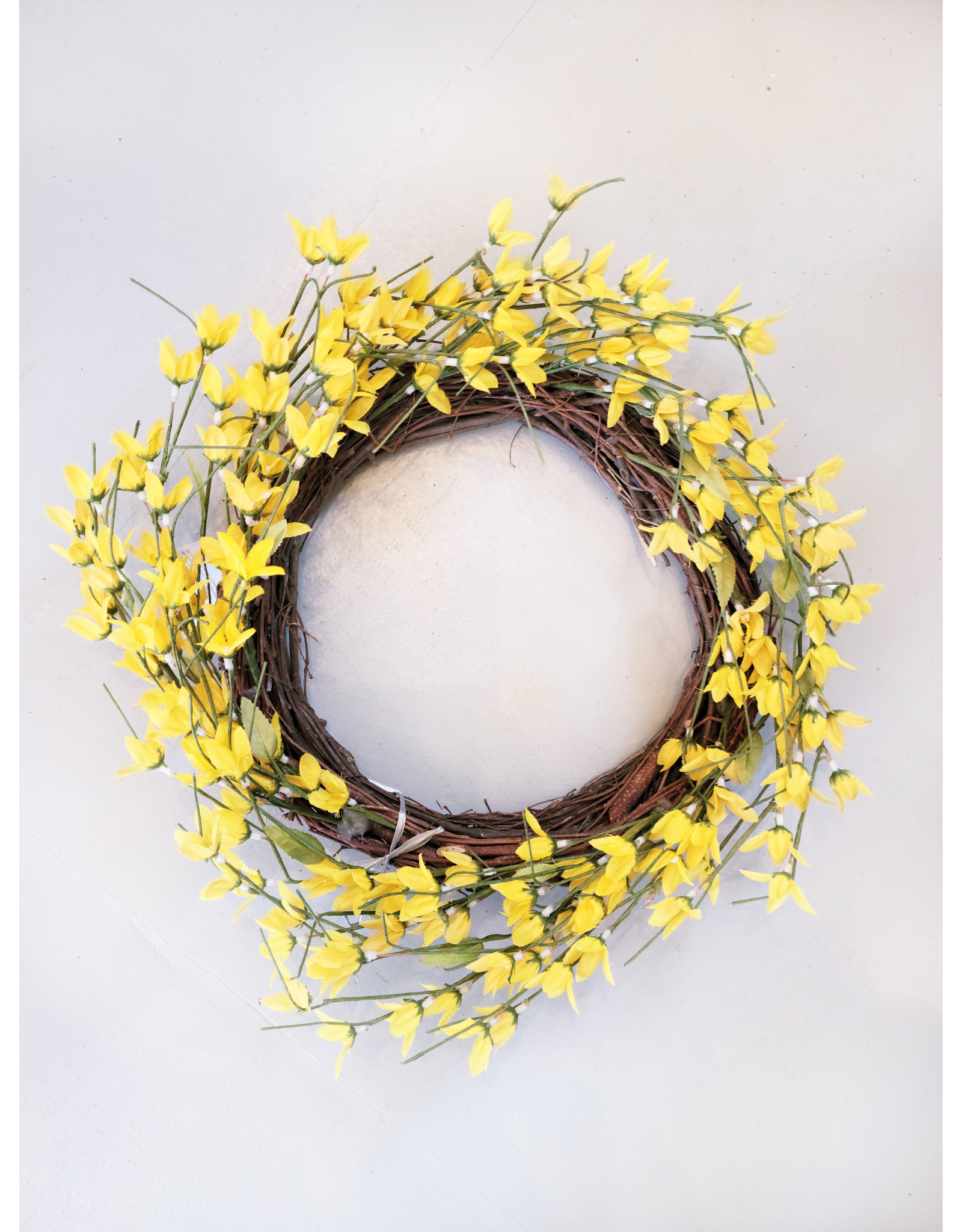 Yellow Flower Wreath