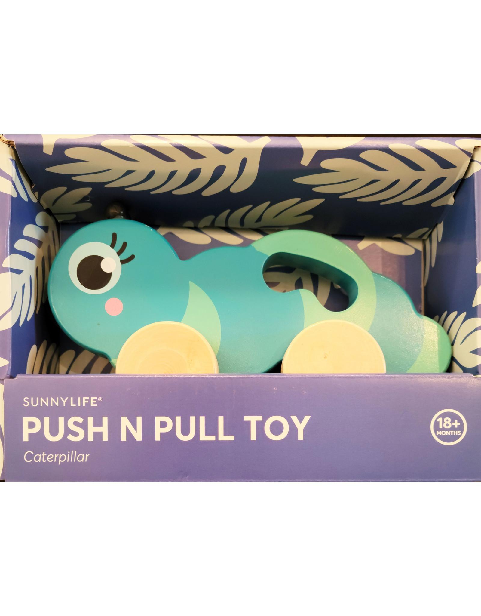 Push n Pull Caterpillar Toy