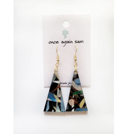 Once Again Sam Paint Stroke Earrings - Assorted