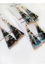 Once Again Sam Paint Stroke Earrings - Assorted