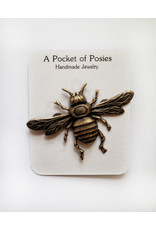 A Pocket of Posies POP Golden Bee Pin