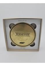 Zootility TN Brass Coaster