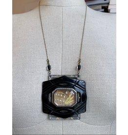 Vintage Large Bellflower Necklace