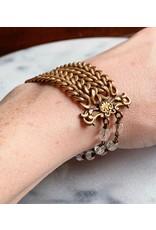 Victorian Scallop Fob Bracelet