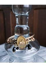 Etruscan Revival Swan Bracelet