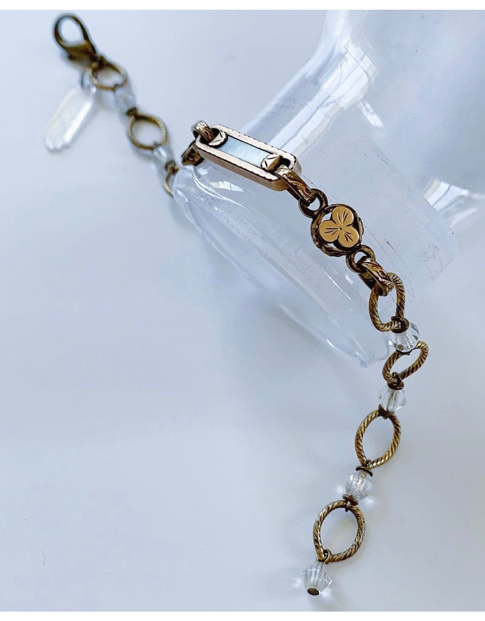 Mother of Pearl Fob Bracelet