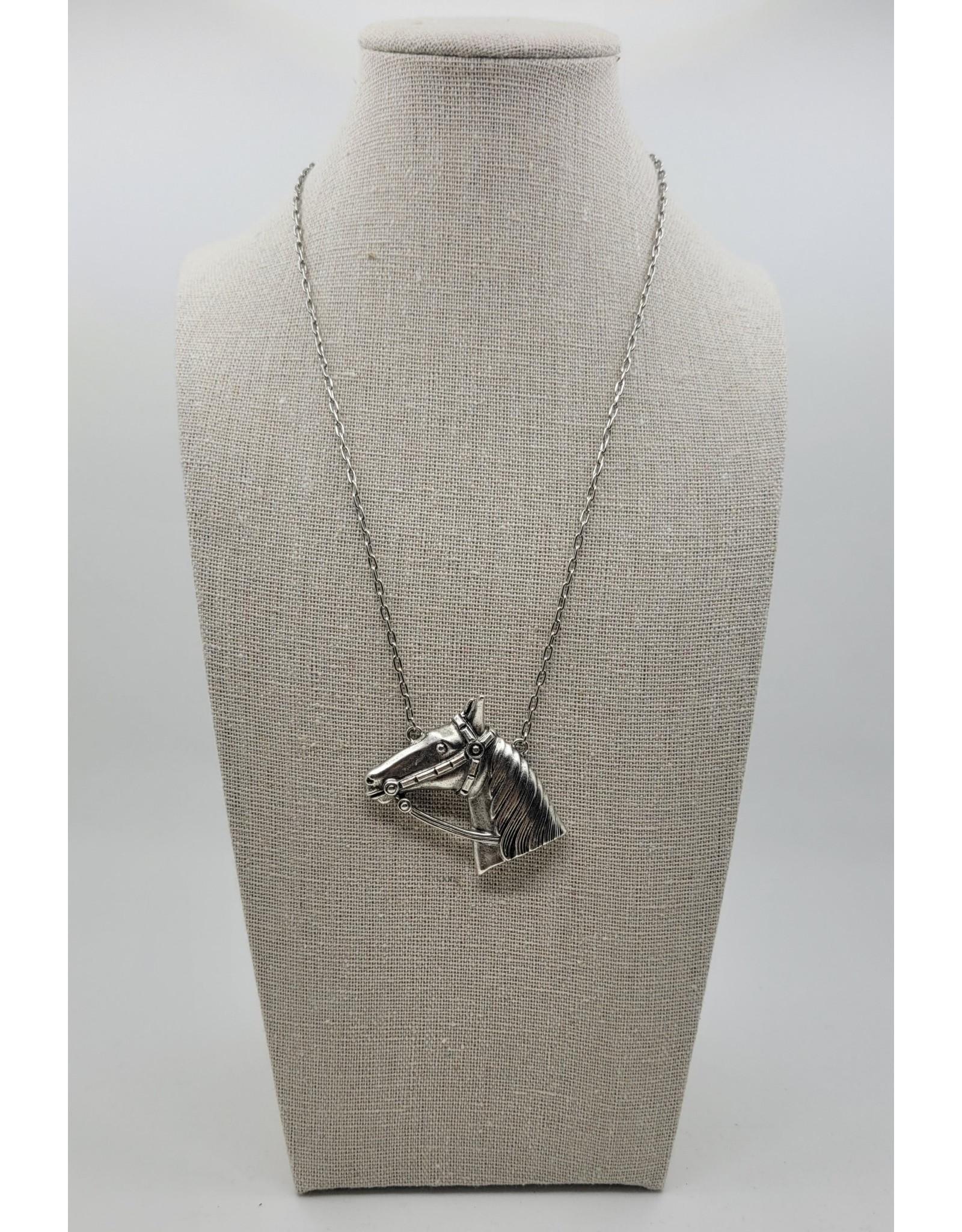 Yochi Horse Chain Necklace