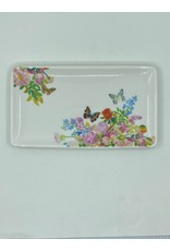 Paint & Petals Butterfly Ceramic Tray