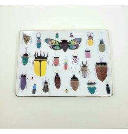 Green Box Bug Ceramic Tray
