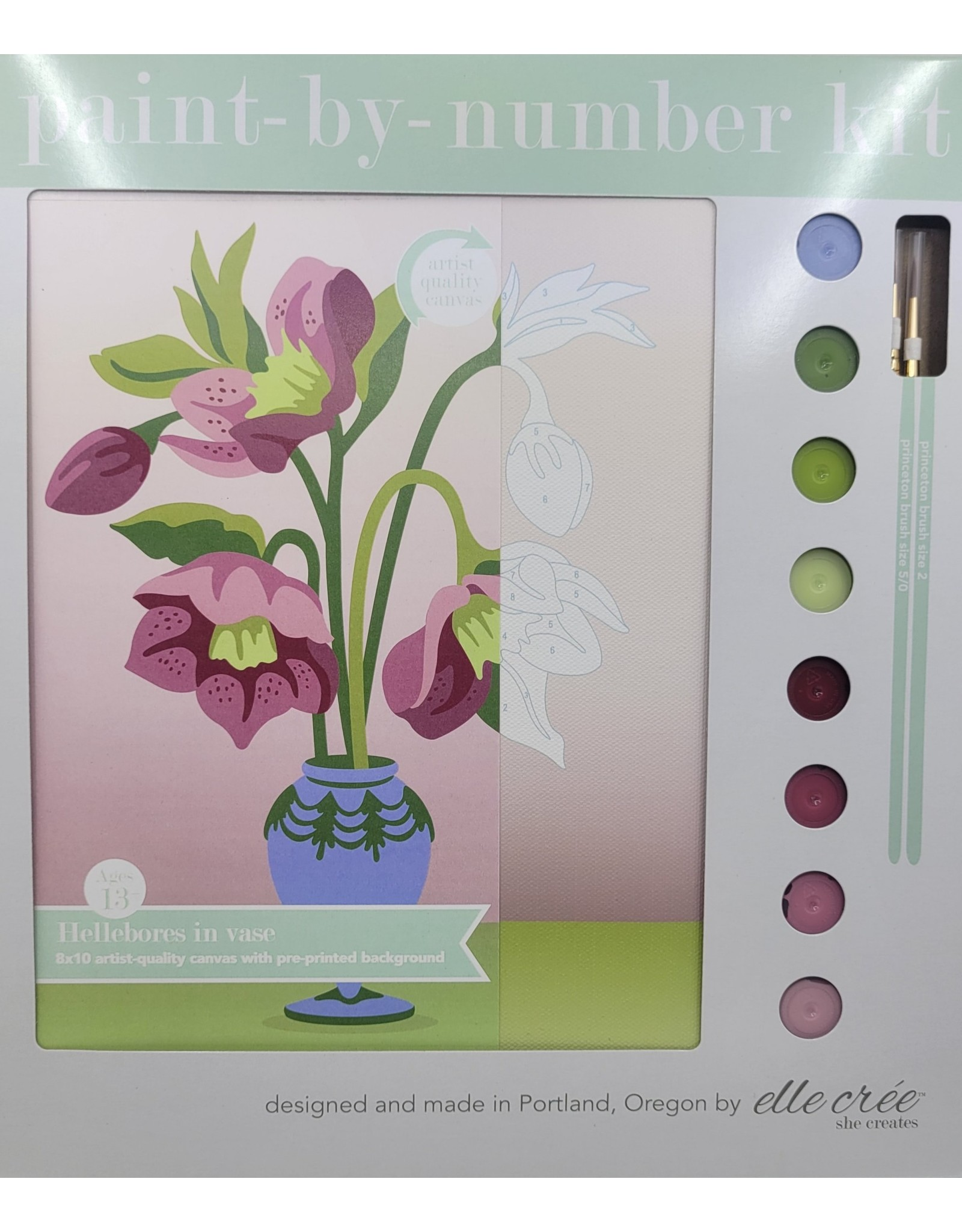 Elle Cree Paint-by-Number Kit
