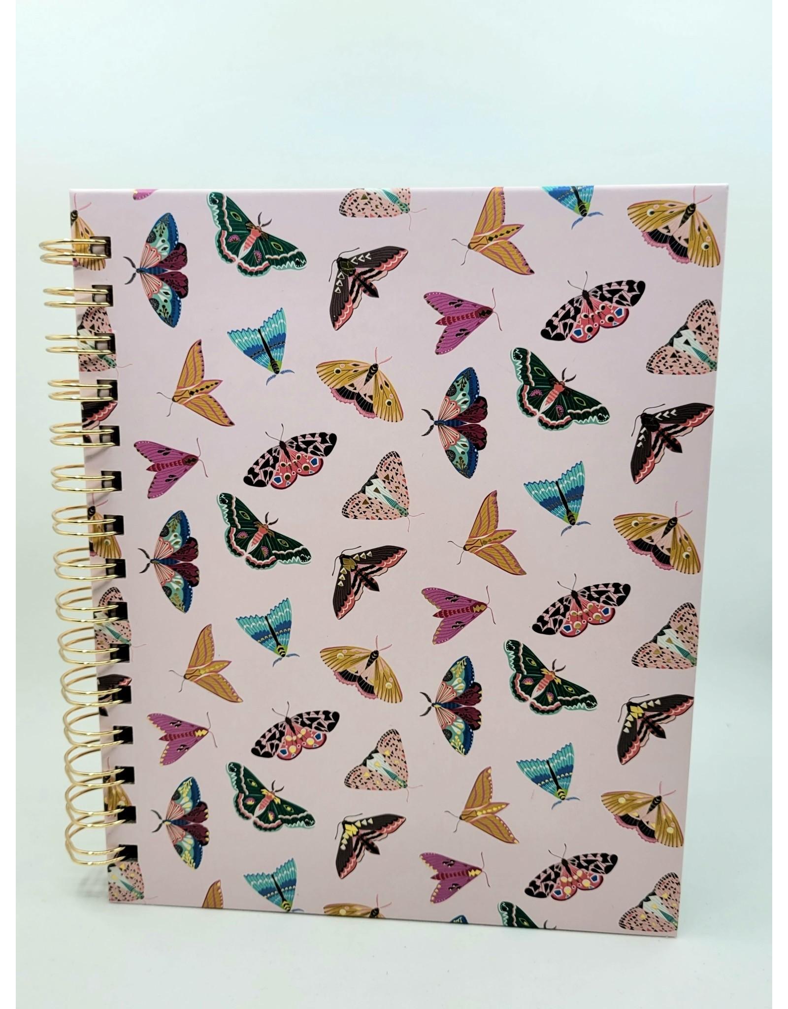Studio Oh! Moth Spiral Notebook