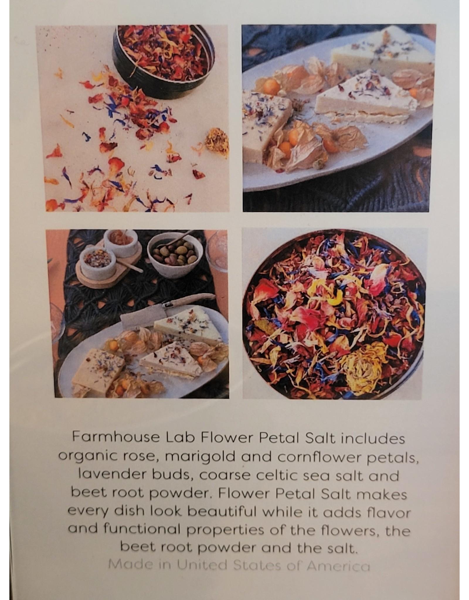 Farmhouse Lab Flower Petal Salt
