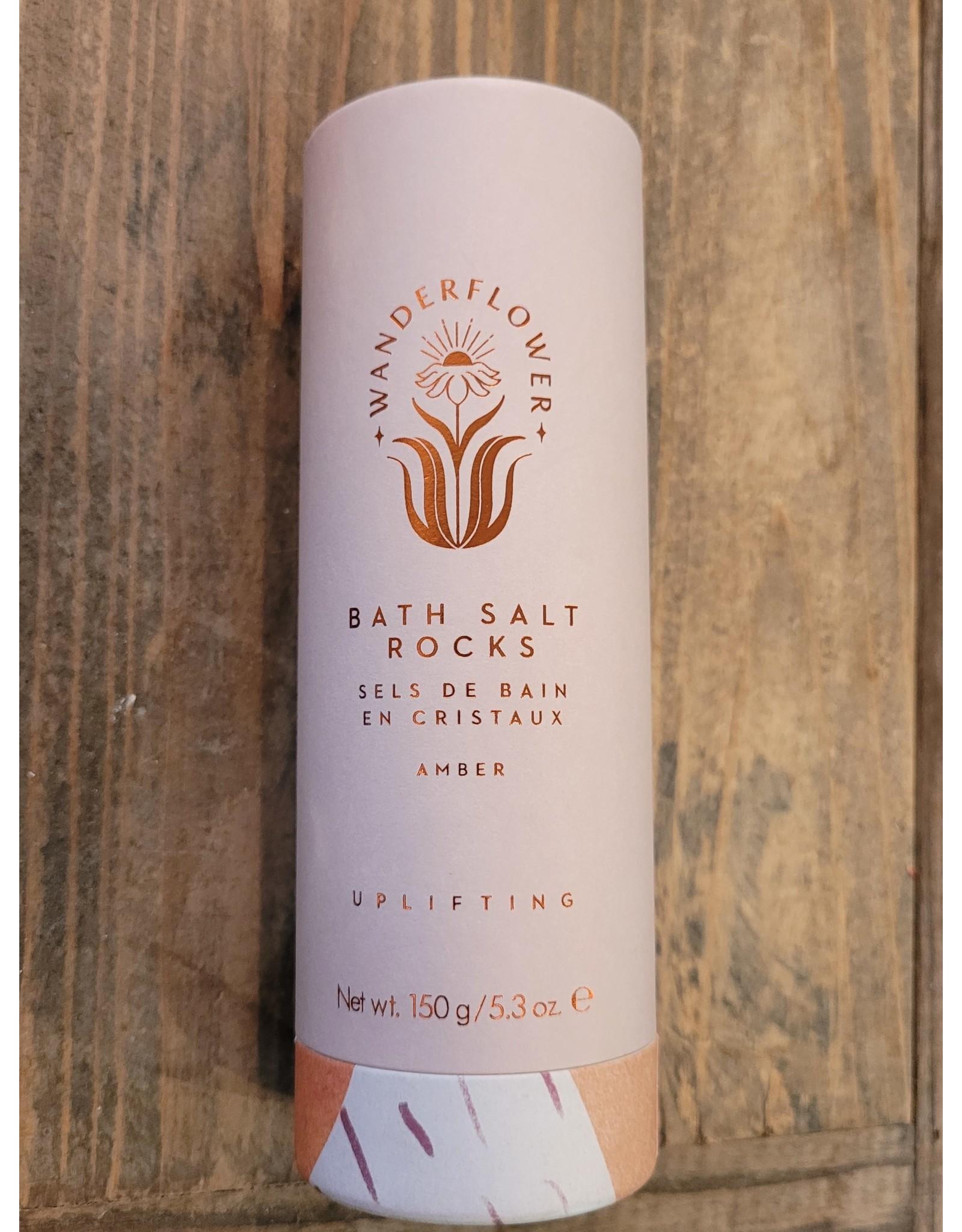 Upper Canada Soap Wanderflower Bath Salt Rocks