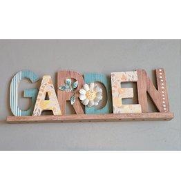 Garden Word Decor