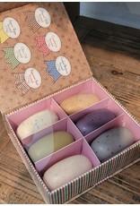 Commonwealth Soap & Toiletries 6pc Exfoliating Bars Gift Box