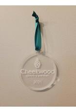 Cheekwood Clear Ornament