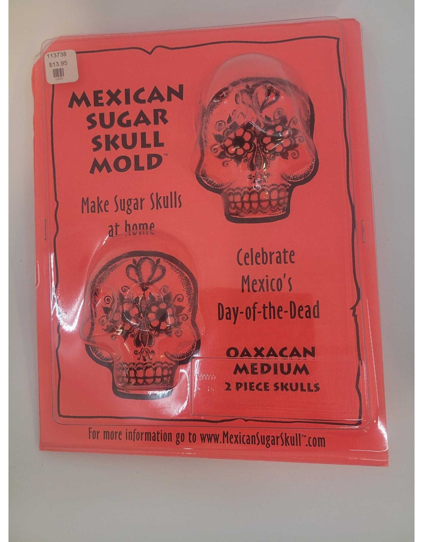 Skull Molds 2pc Set