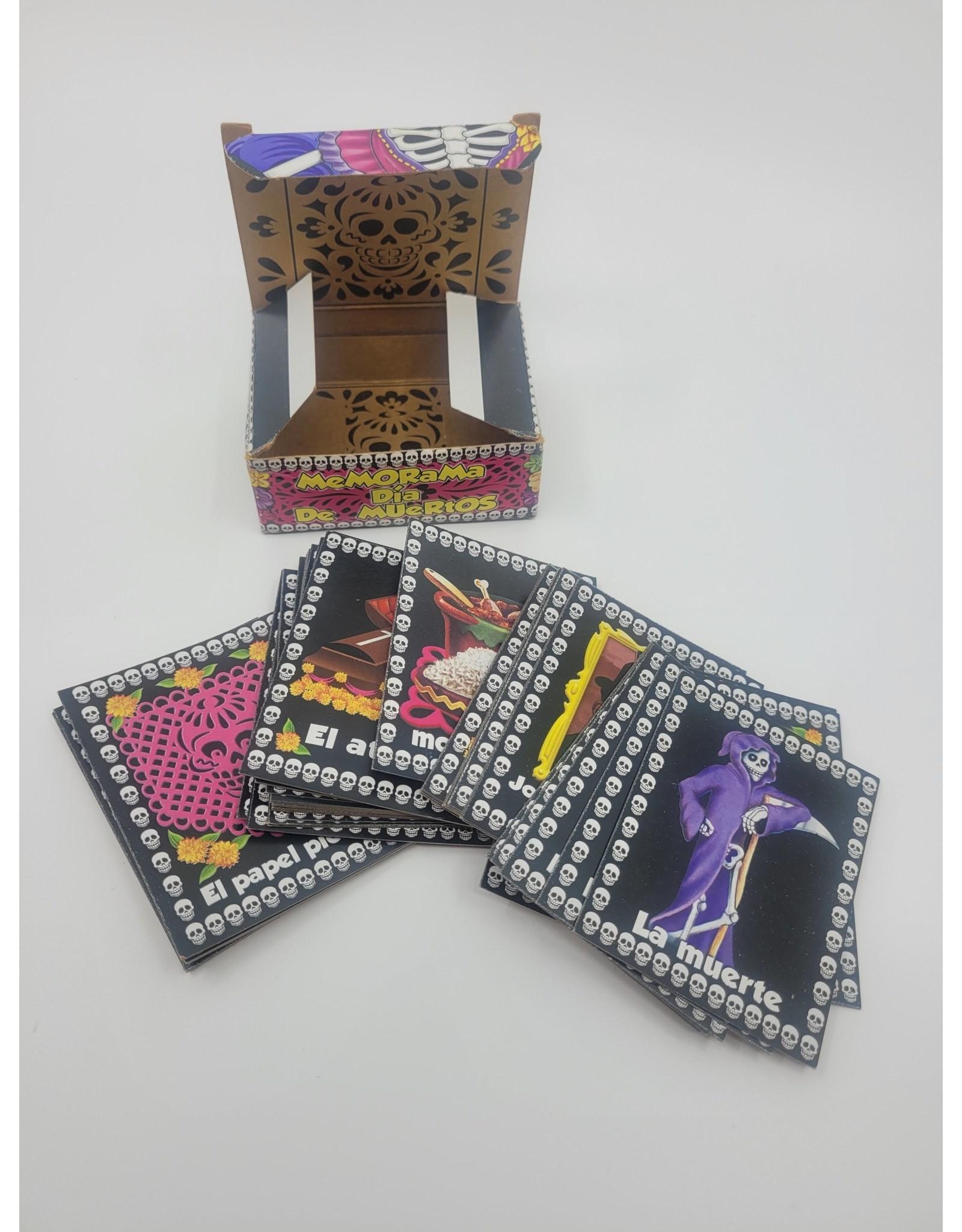 Memorama Dia de Muertos Card Game