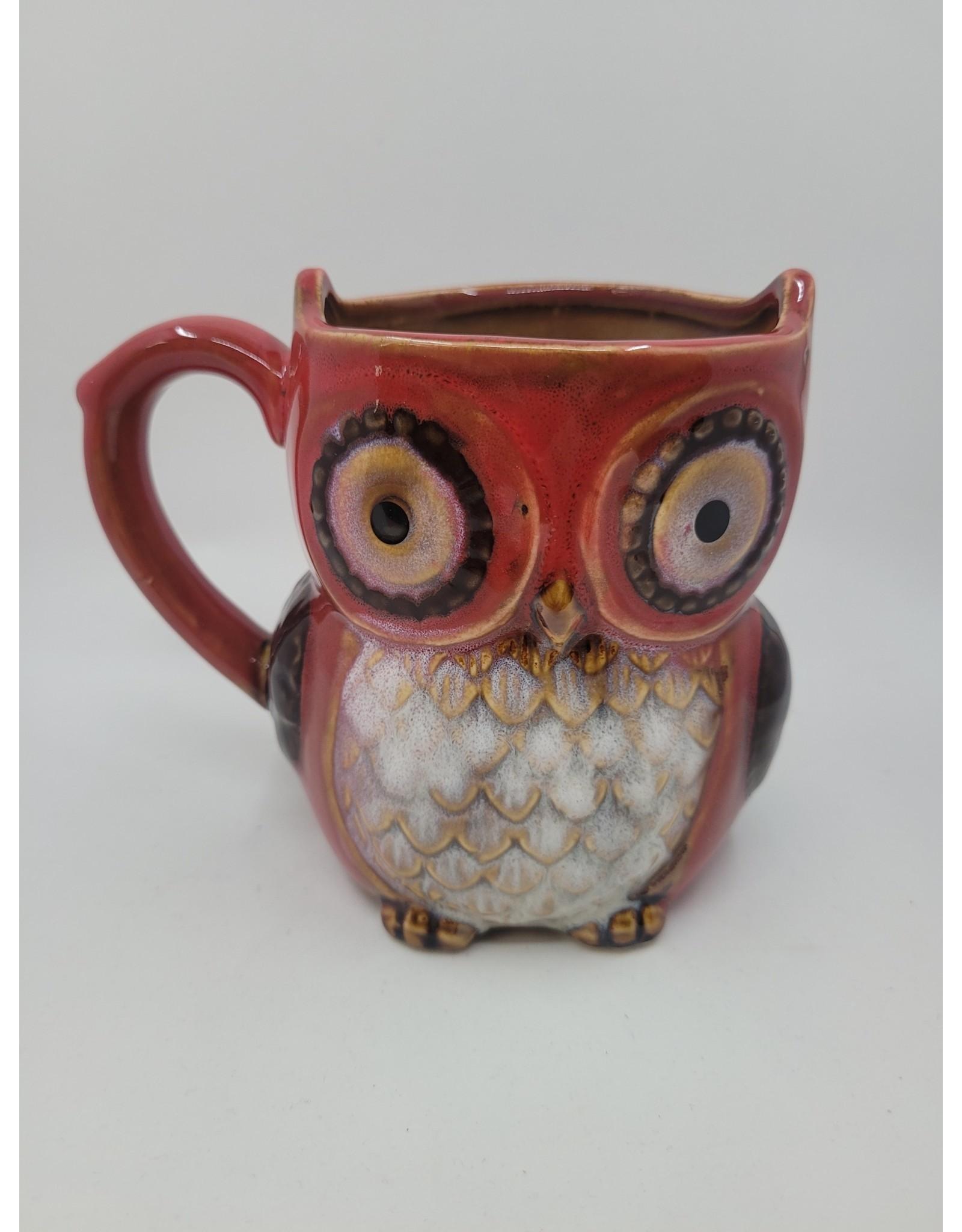 Red Owl Mug