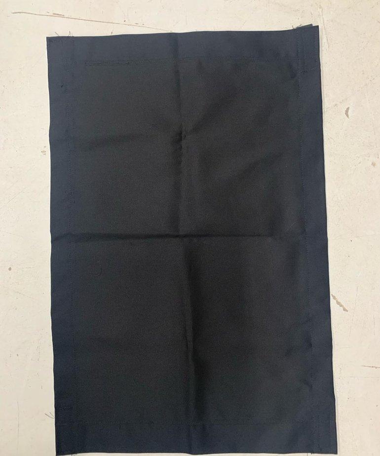 17x26 Black Curtain with Velcro