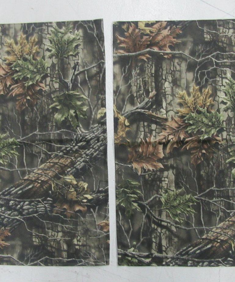 30W x 22H Camo Curtain (SET OF 2)