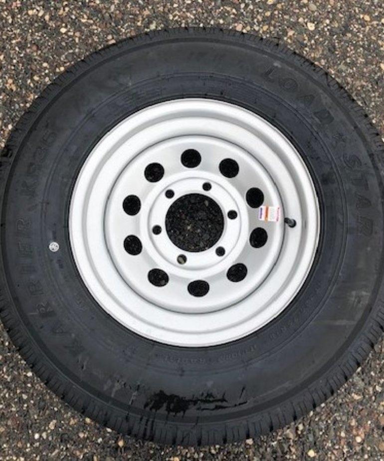 ST225/75R15 D/6H MOD Silver KR35 Kendra Wheel