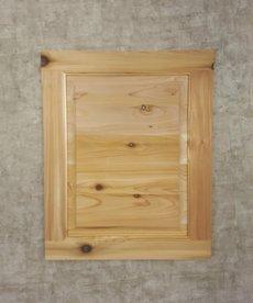 """21 1/4"""" x 17"""" Cedar Cabinet Door"""