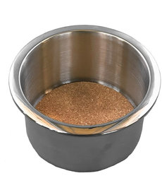Silver Cup Holder with Cork