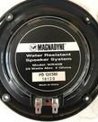 "5"" Magnadyne Marine Dual Cone Speakers 25 Watts Black"
