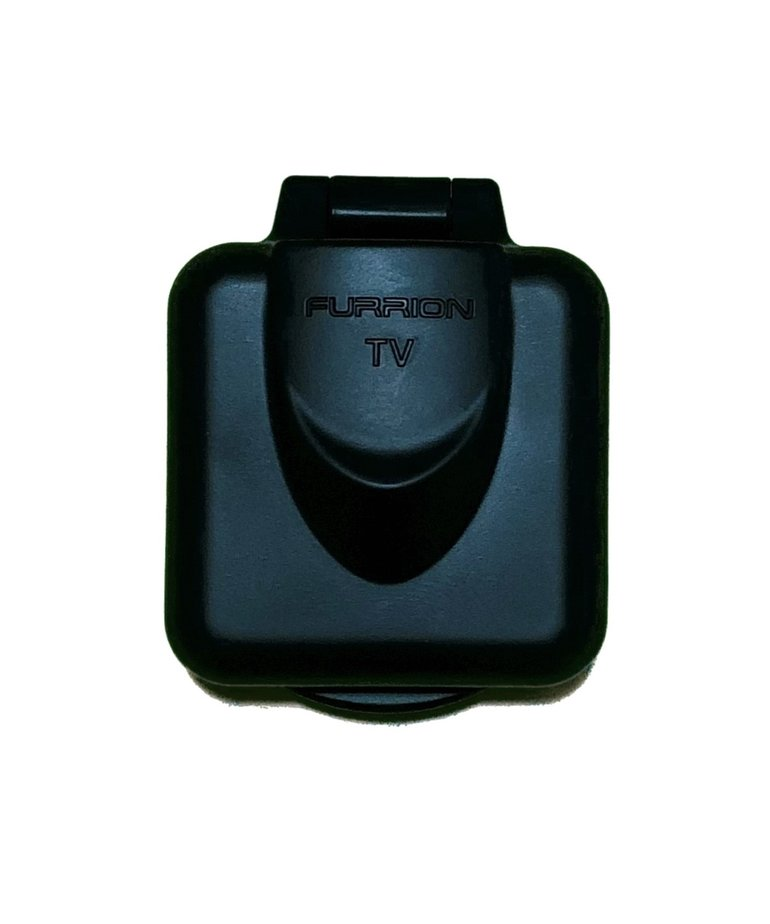 Mini TV Inlet Square Black