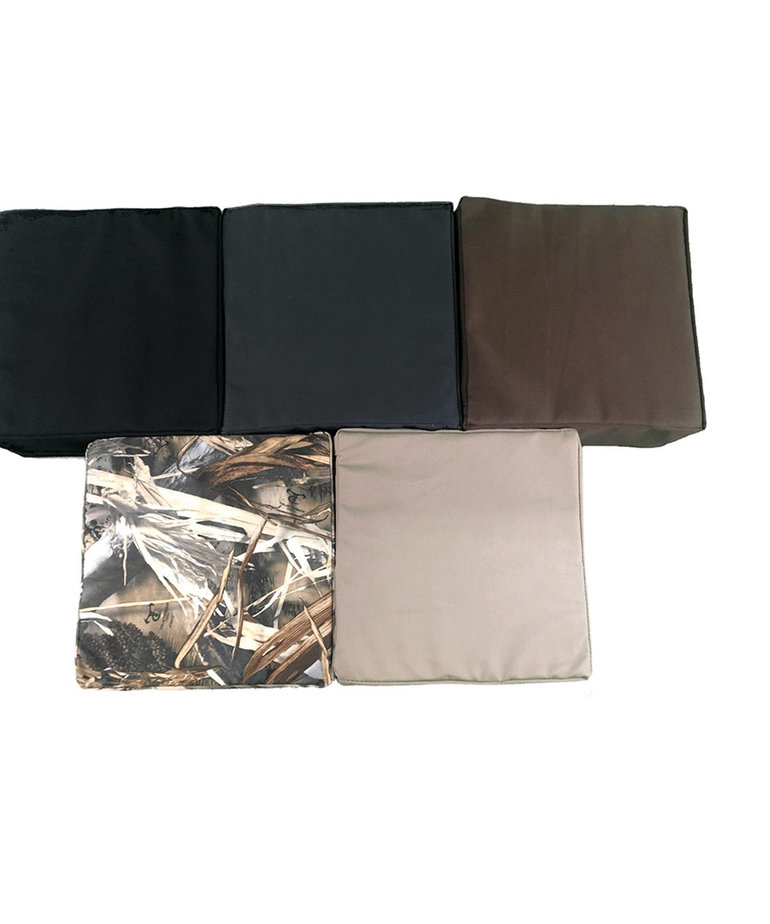 24X45 Black Cushion
