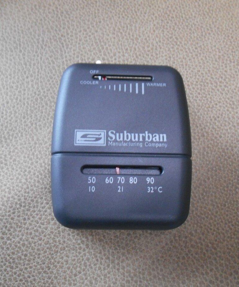 Suburban Thermostat Black