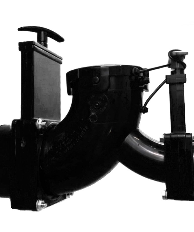 Valve Assembly Double Elbow