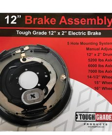 12 X 2 R Electric Brake Assembly Right