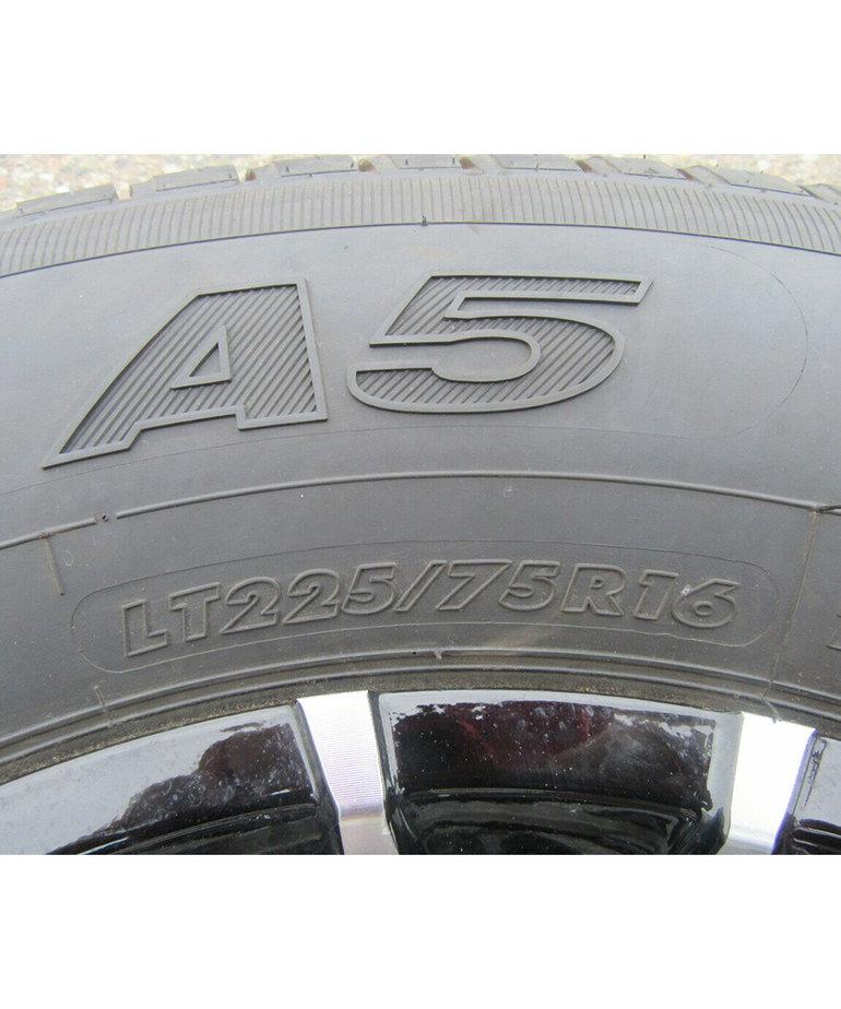 ST225/75R16 D/8H T07 Aluminum Karrier (SDL) Wheel