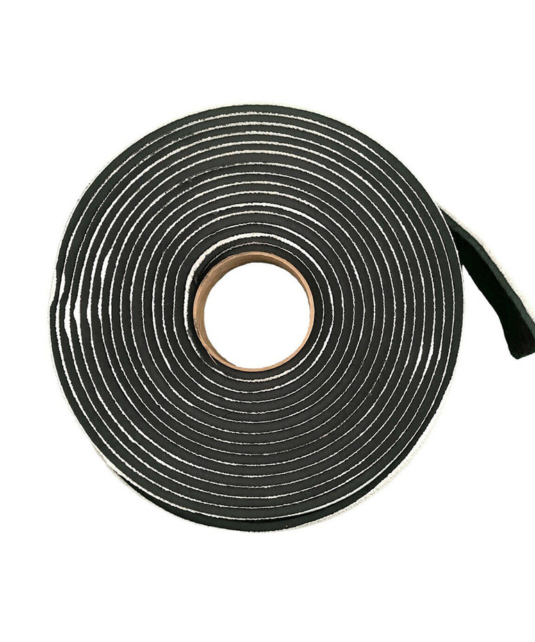 """P2000B 3/16"""" X 3/4"""" X 20' Black Butyl Tape"""