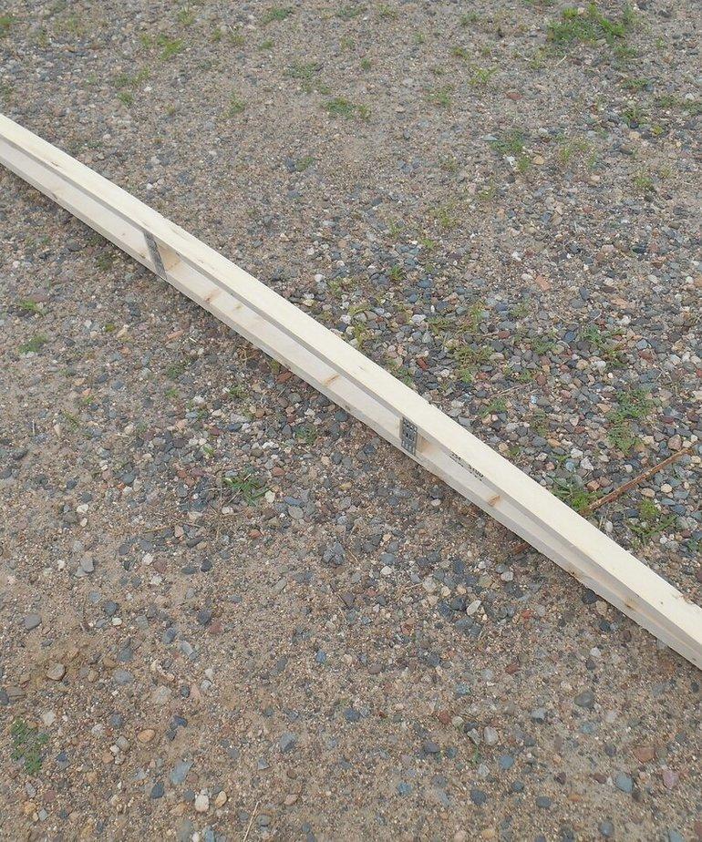 """95"""" Wooden Roof Truss"""