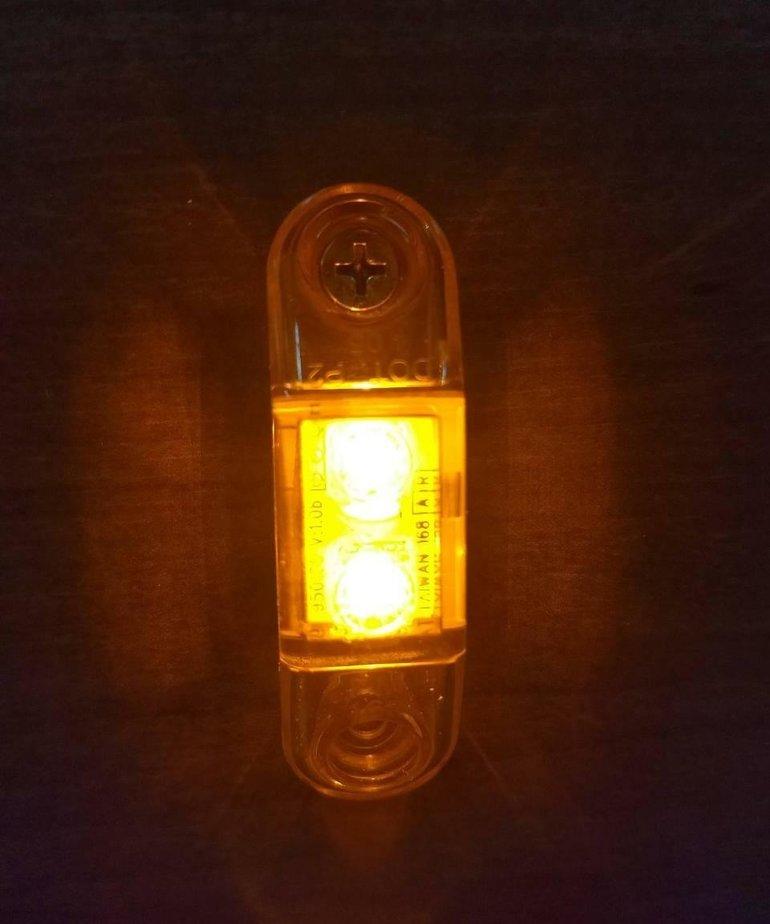 Amber LED Marker Light