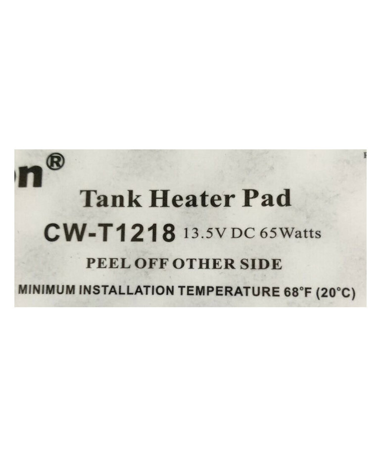 Heating Pad for Fill Tanks