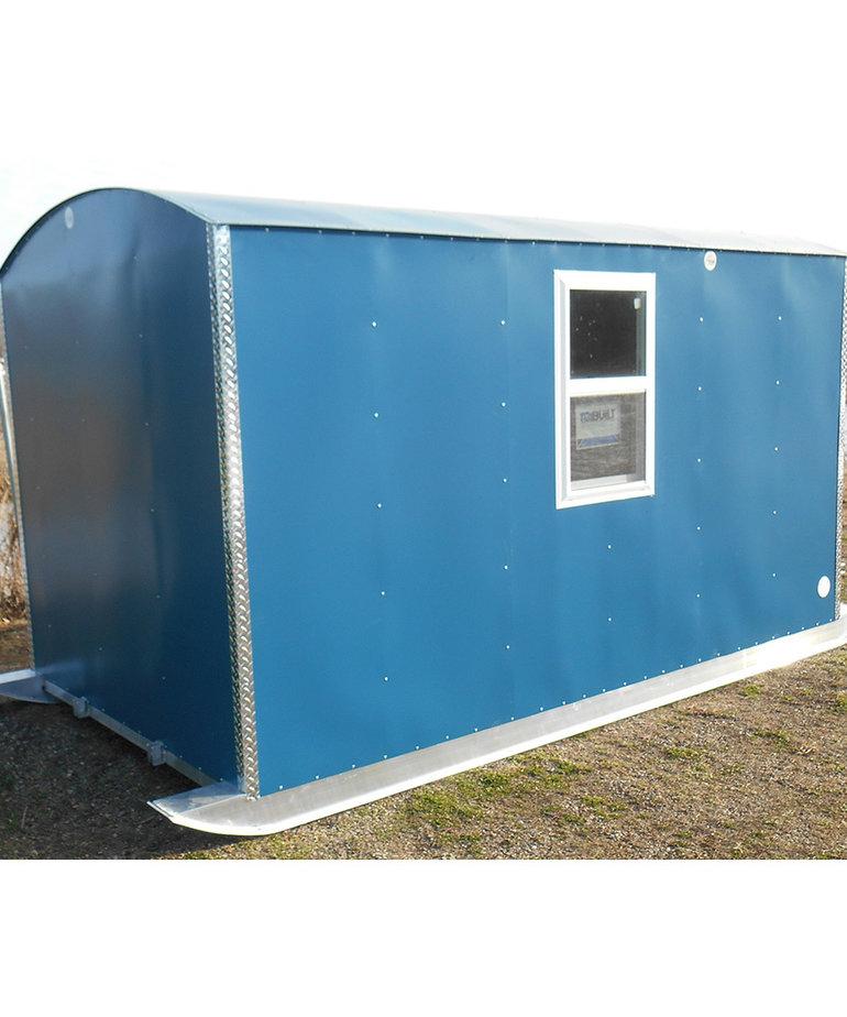 7X14 Aluma Lite Skid House The Resort Matte Blue