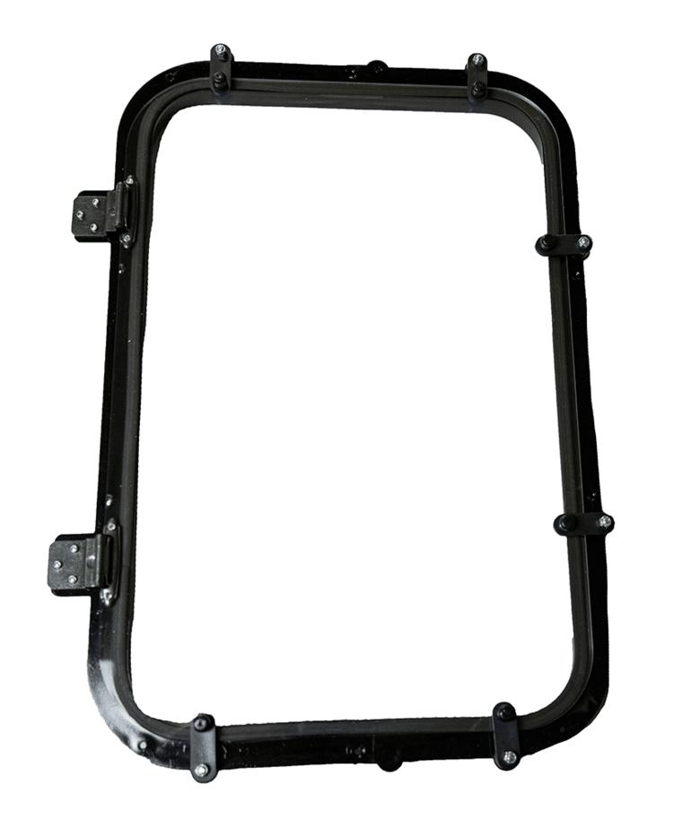 "Stump 2 Framed Window - 10.5""x 19.5"""